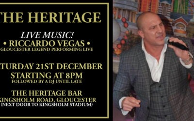 Riccardo Vegas Live At The Heritage!